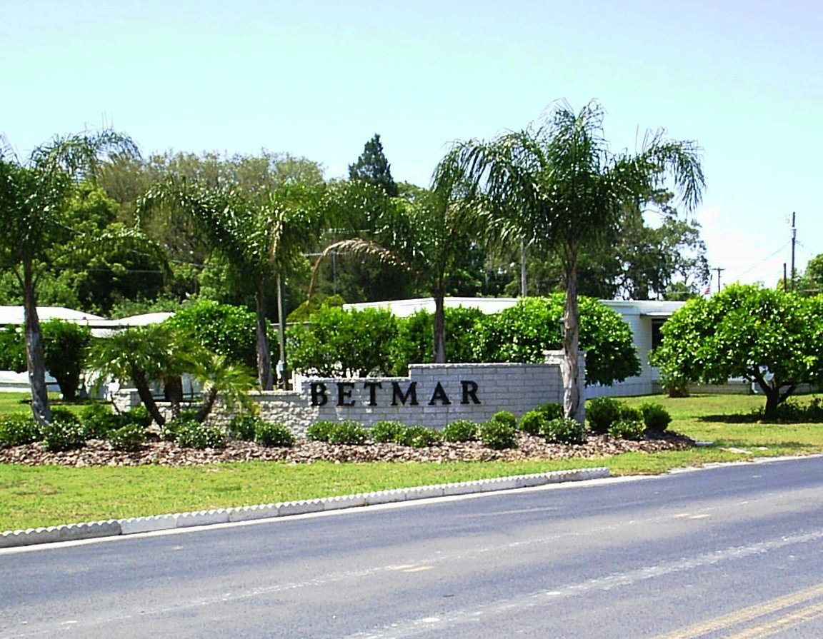 Welcome Betmar Acres Is A Manufactured Home Community Located In Zephyrhills Florida